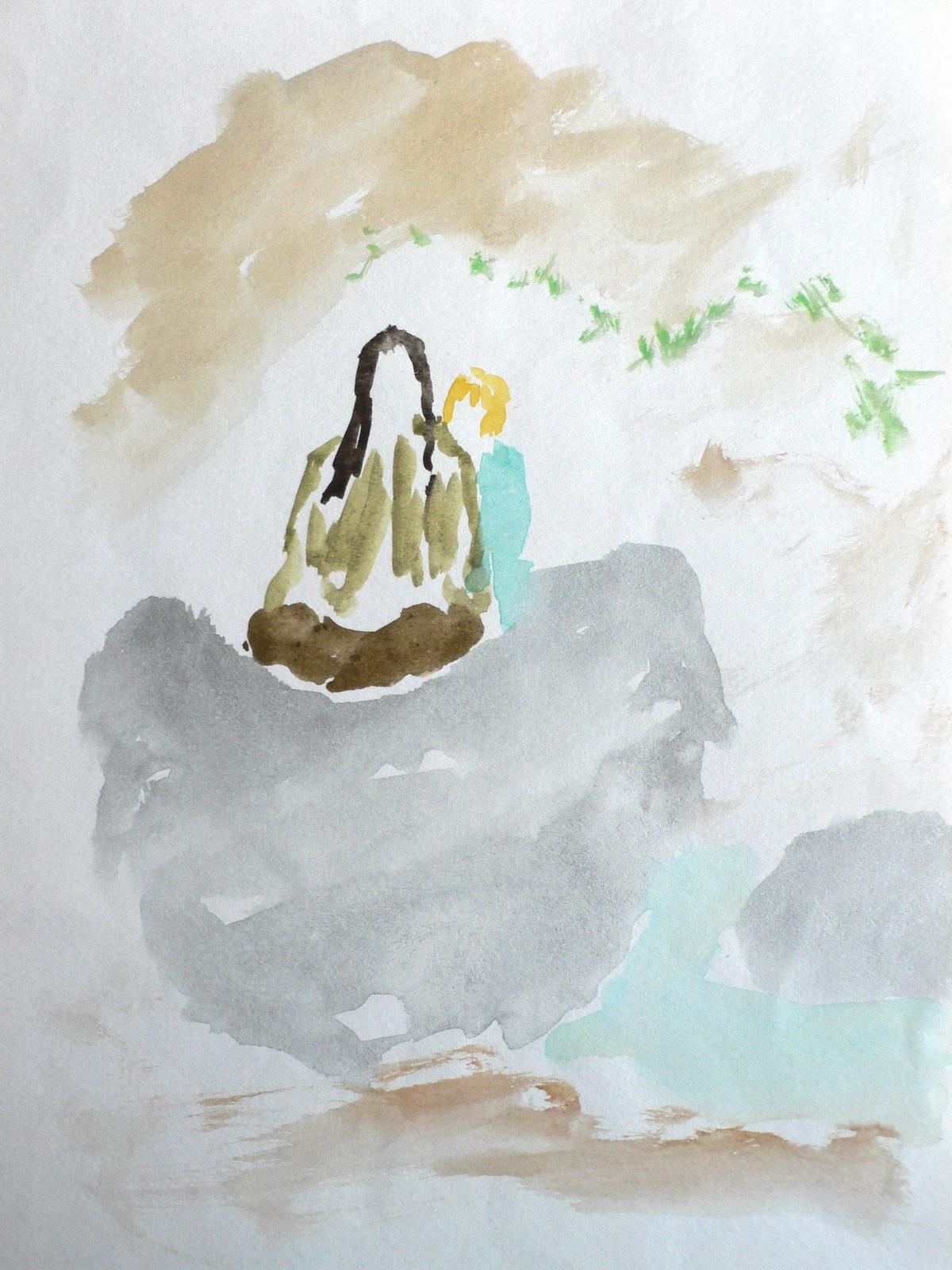 Wassermädchen bei Margot