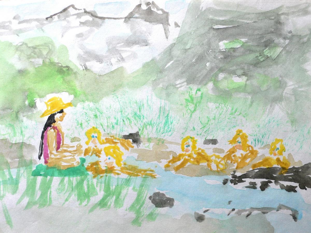 Margot und die Wassermädchen